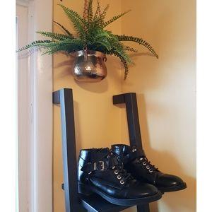 ◇ 2/$32🍕▪Le Chateau▪Black Moto-Style Ankle Boots